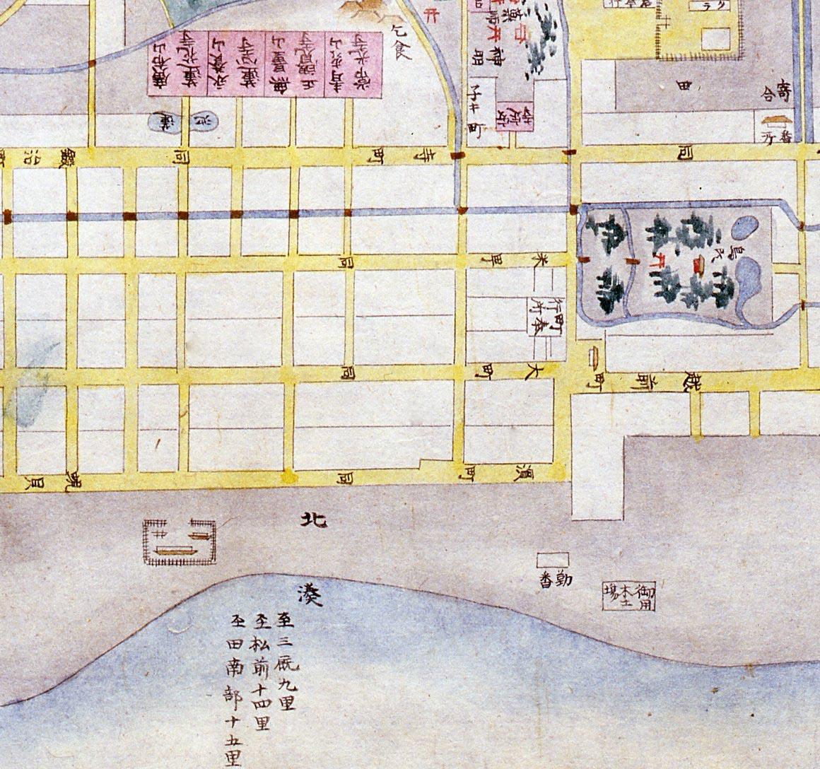 ふるさとの宝物 第184回 九浦外町絵図