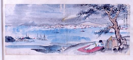 ふるさとの物語 第185回 蓑虫山人と彗星     ~ユニークな絵日記~