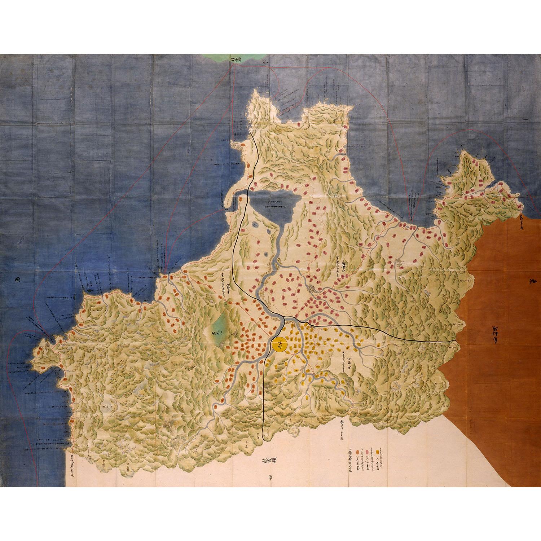 陸奥国津軽郡之絵図(正保国絵図)