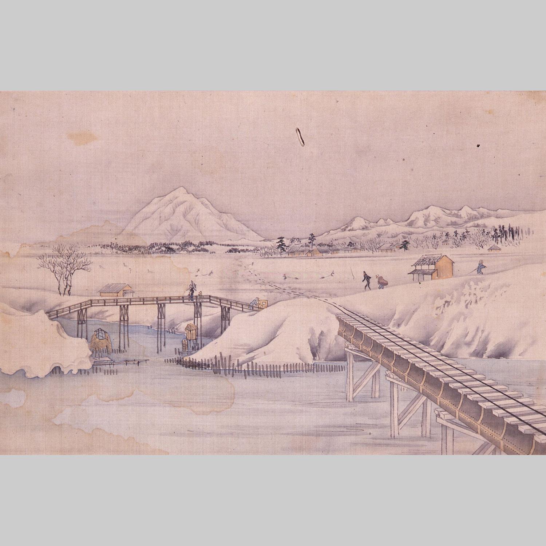 日本鉄道陸奥地方画譜